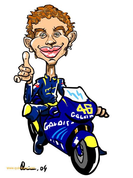 Expresi Lucu Wajah Valentino Rossi D Keongracing